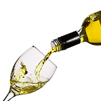 deguster un vin blanc